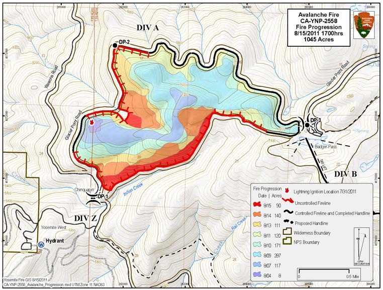Fire Map Yosemite.News From Yosemite West Property Homeowners Inc